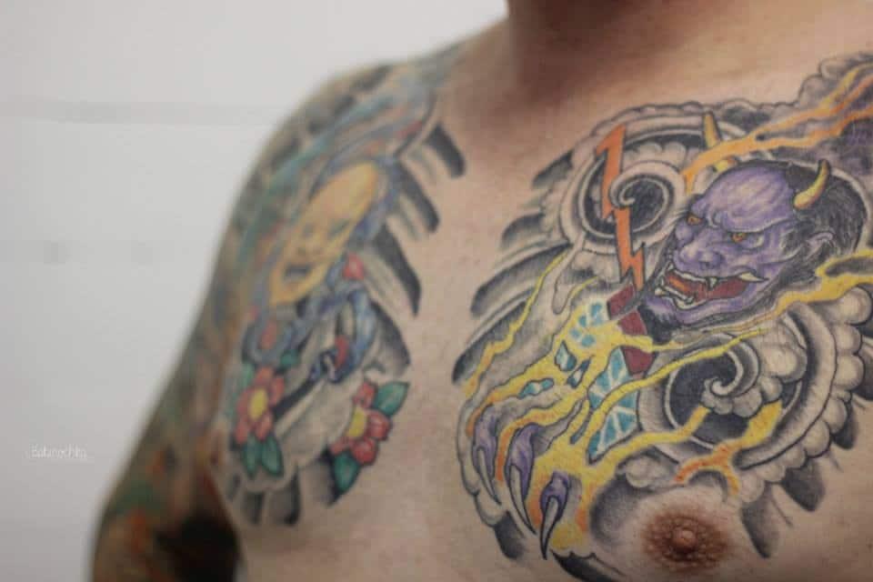 entretien tatouage couleur