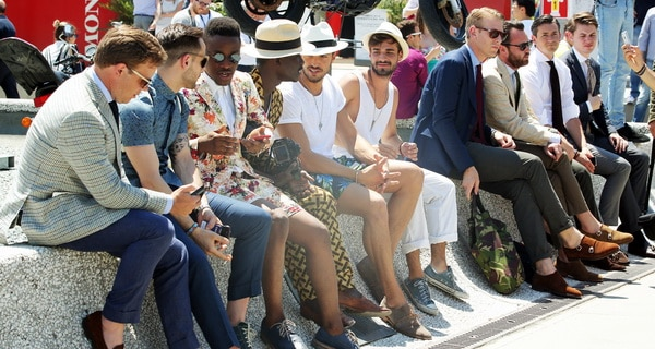 photo pitti uomo tommy ton