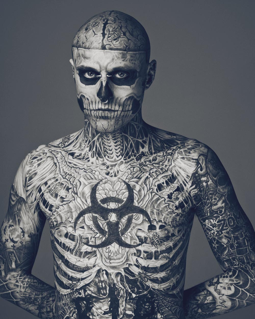 zombie boy tattoo