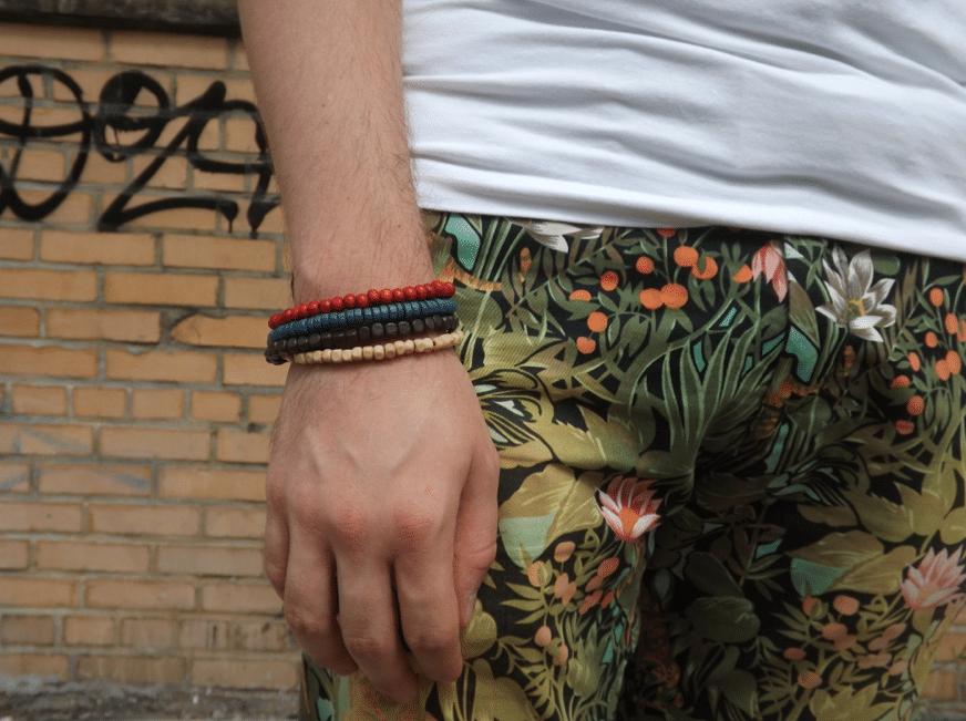 bracelets hm pantalon fleuri