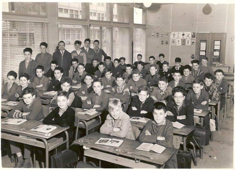 salle de classe vintage