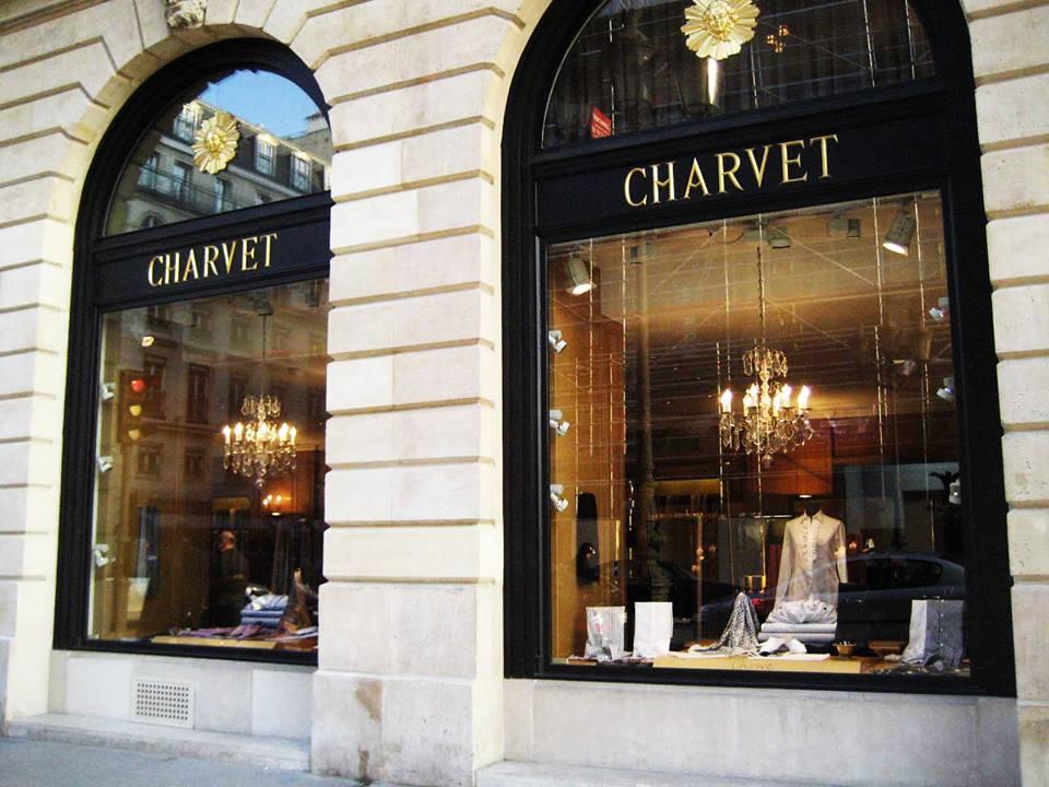 vitrine chemises charvet