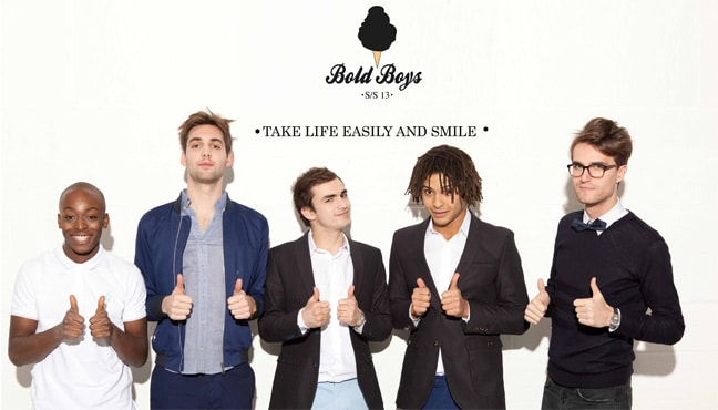 bold boys casual chic