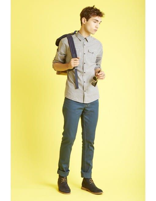 chemise flanelle carreaux hèdus
