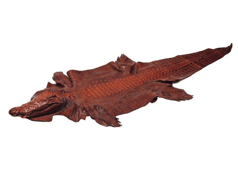 Jacques et demeter peau crocodile