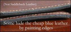 detail partie cuir