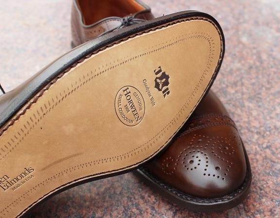 semelles chaussure cordovan