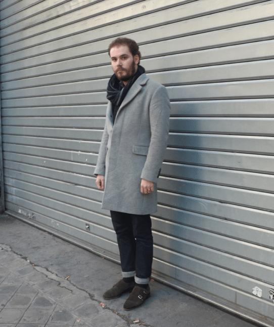 look manteau fermé