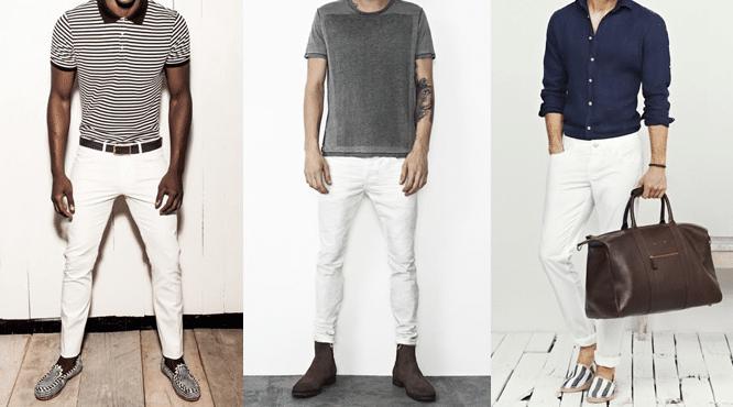 cover article pantaloon blanc