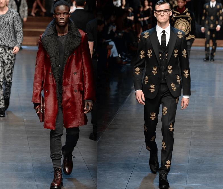 Dolce & Gabbana défilé pour bw-yw