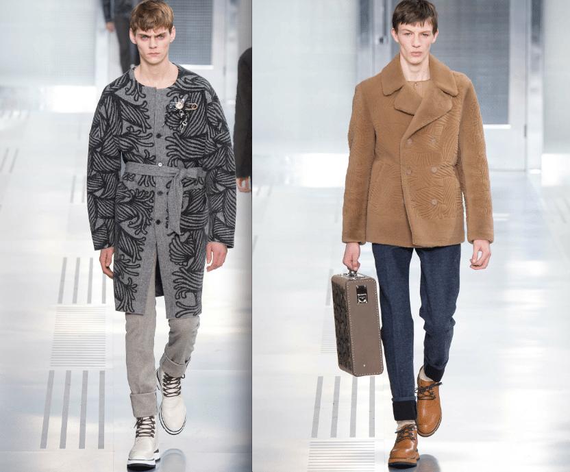 Louis Vuitton défilé decryptage bw-yw