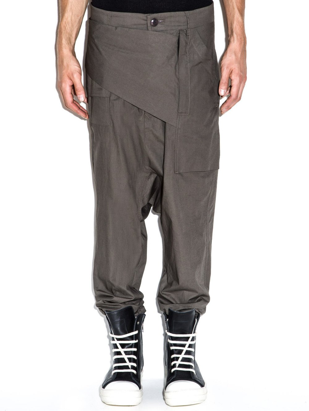 Pantalon coupe slim court homme