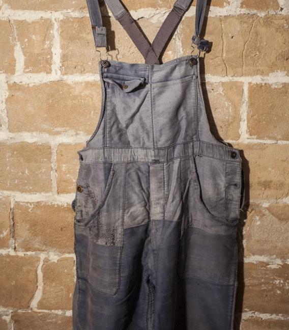 salopette en jean workwear