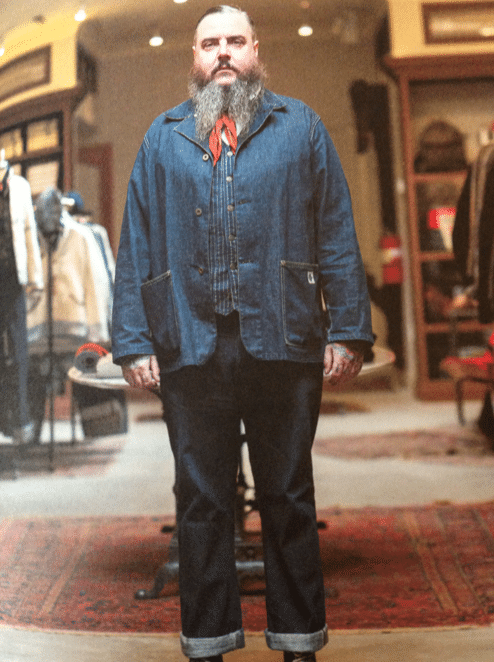 workwear denim brut