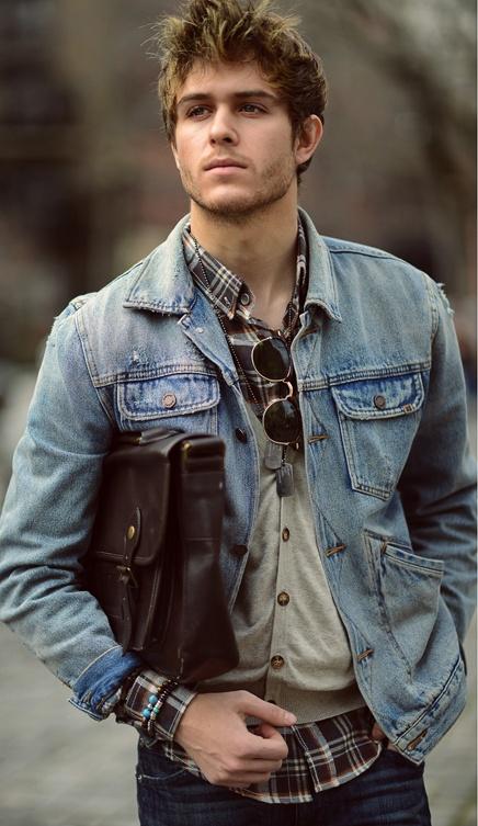 Comment porter une veste en jean