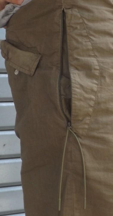 Sweatpants maharishi details
