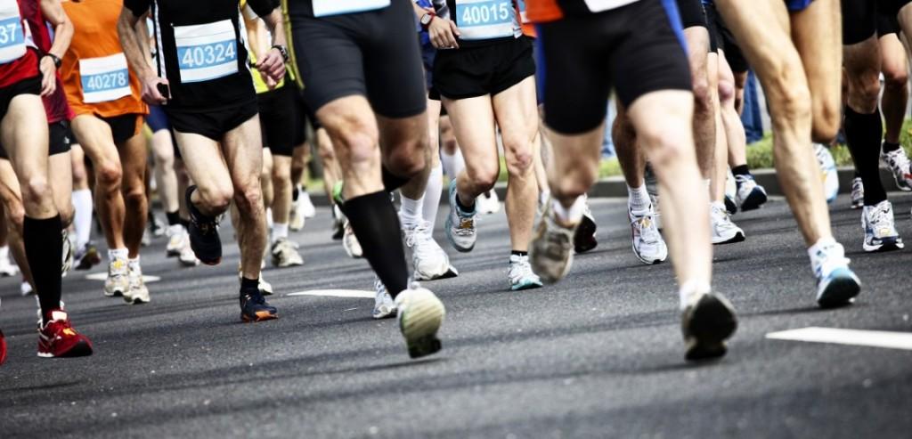 J'ai parié que je courrais un marathon en 2016… lol.