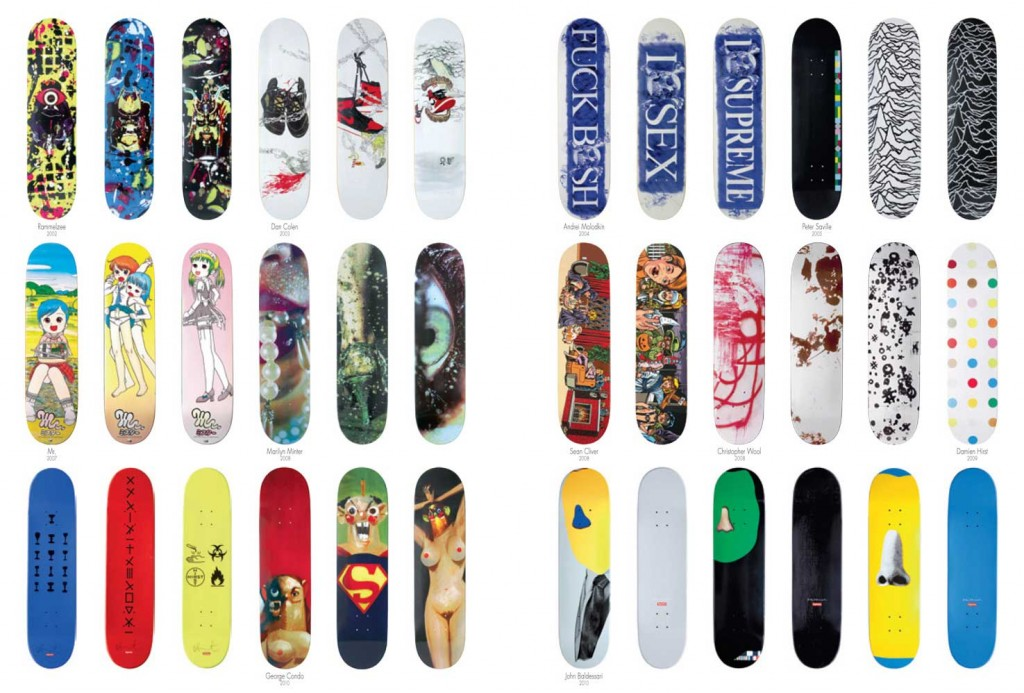 032c hosted and exhibition featuring supreme series decks on decembre 4 2012