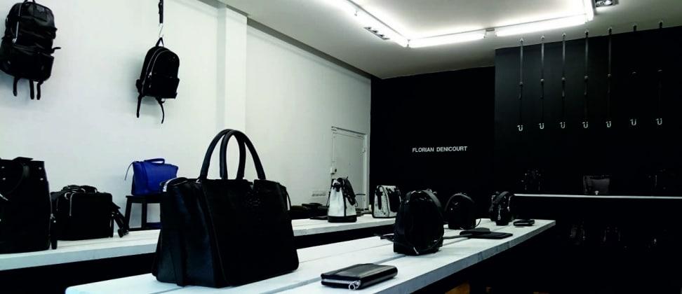 Florian Denicourt, créateur maroquinier de luxe