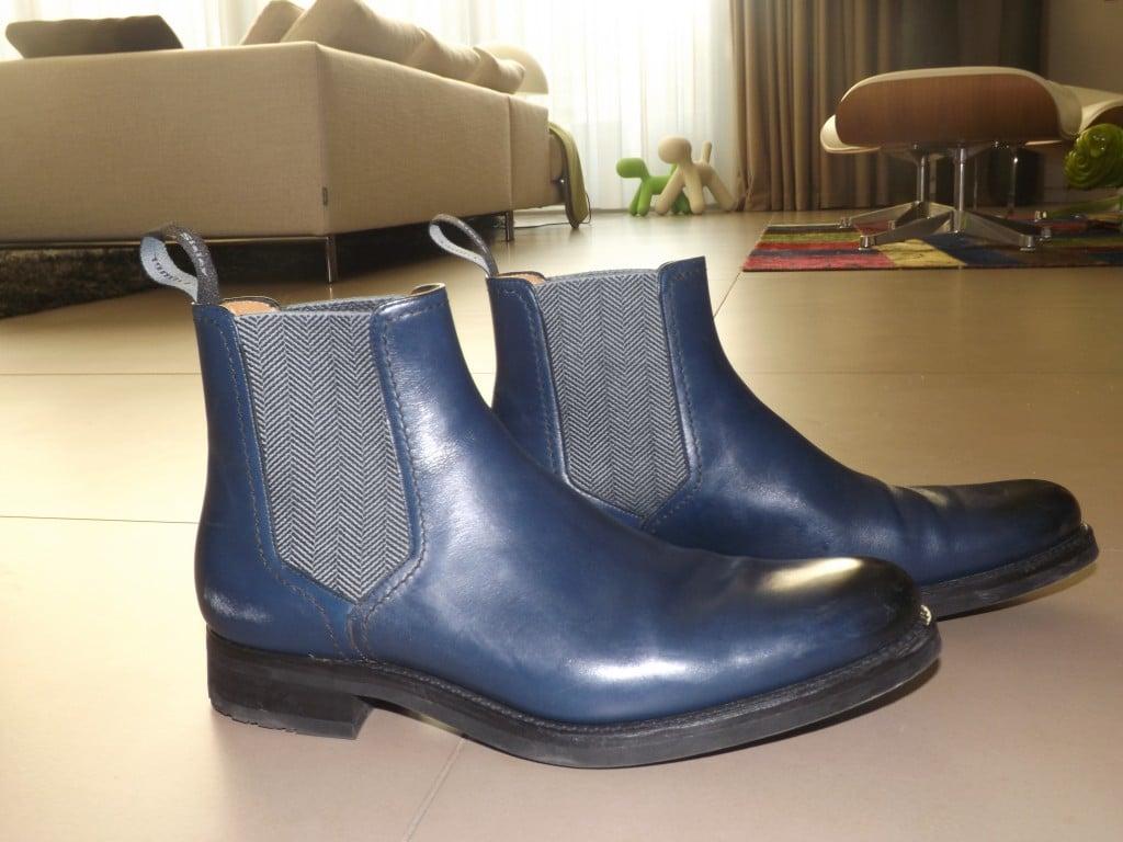 Loding x Tomer Sisley chealsea boots