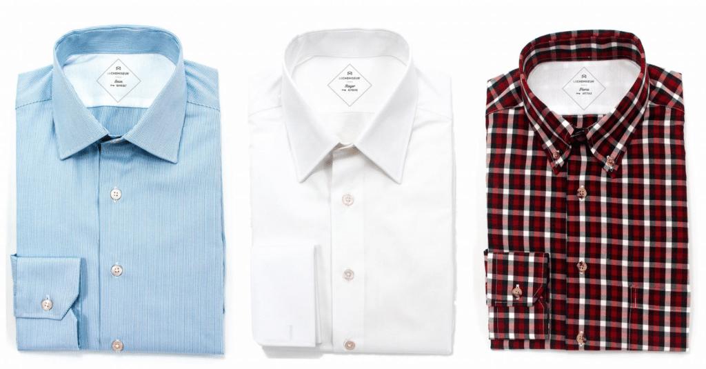 (Test) Le Chemiseur : personnalisation et chemise sur mesure