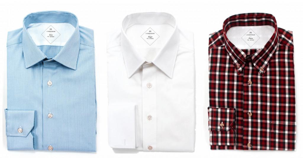 Test le chemiseur - chemise sur mesure en ligne