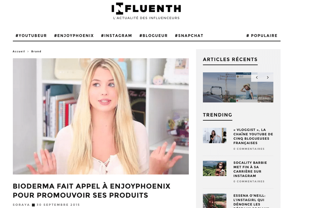Influenth - Enjoy