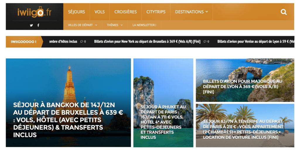 Le site iwiigo.fr