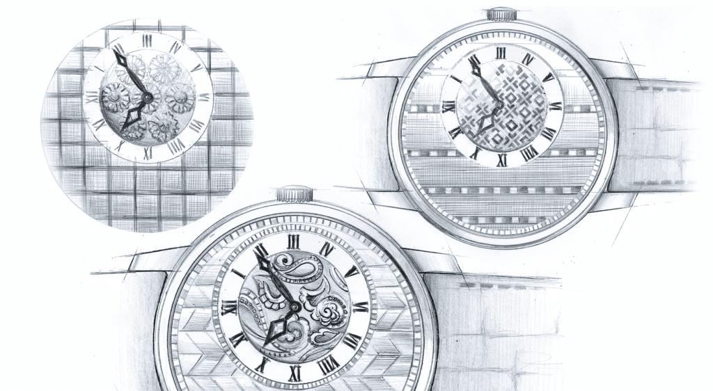 Collection horlogerie Vacheron Constantin Métiers D'art Elegance Sartoriale