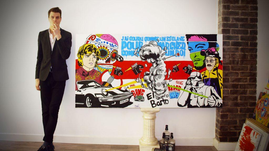 Jisbar x Weston : Quand la Chaussure et l'Art se rencontrent.