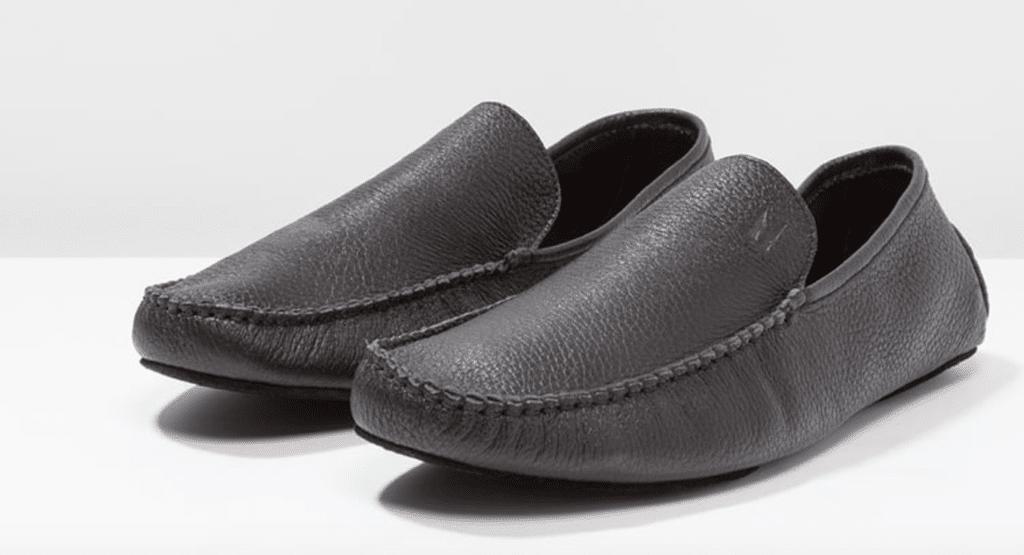 Moreschi Chaussons noirs