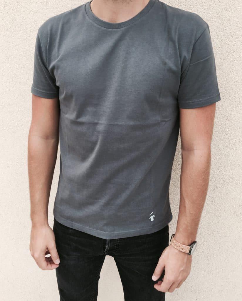 Tee-shirt-gris