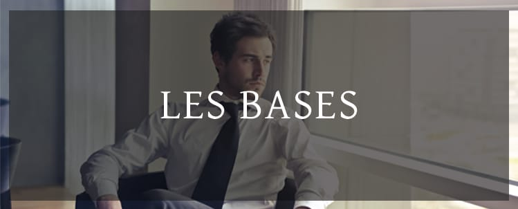 les bases mode homme
